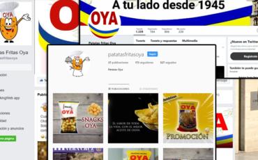 Patatas Fritas OYA de Jaén, cerca de ti gracias a nuestras redes sociales