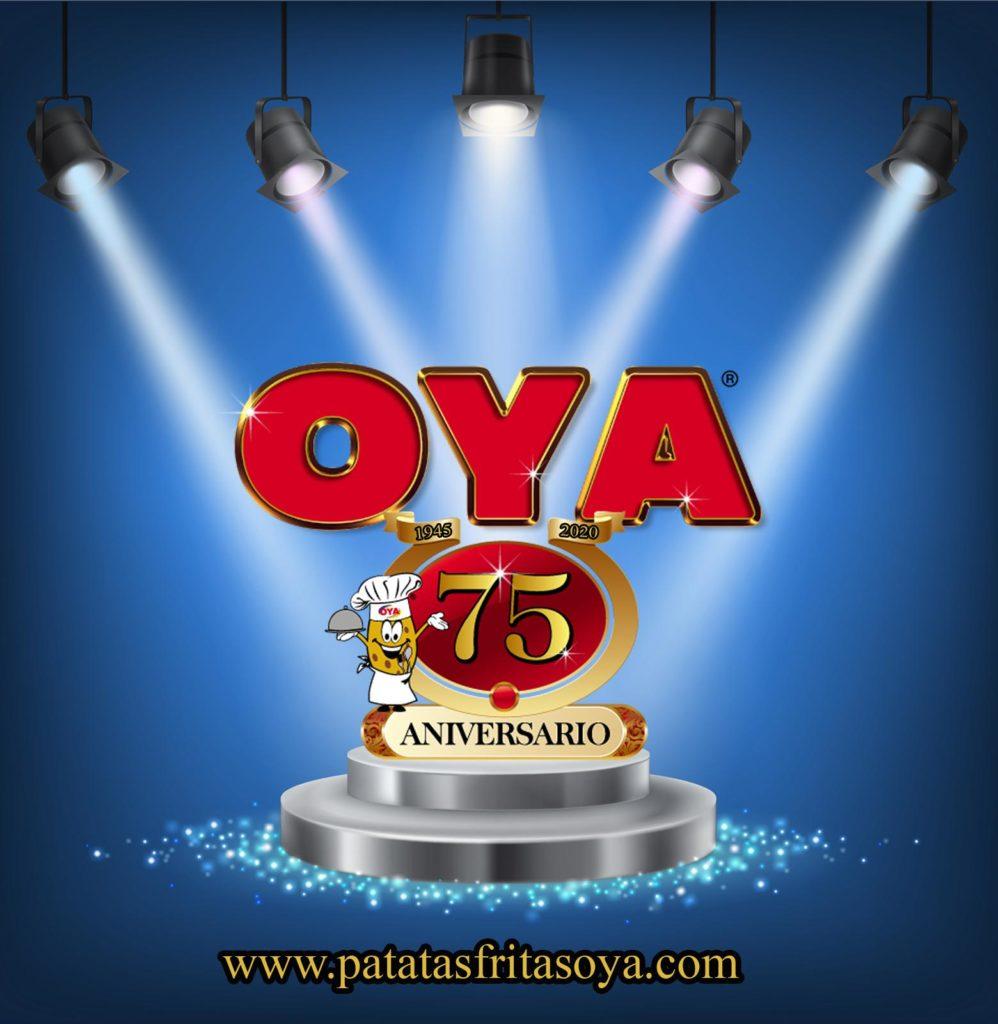 75 Aniversario Patatas Fritas Oya