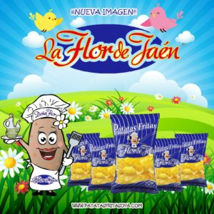 la flor de jaén patatas fritas