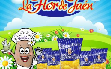 Nueva imagen de patatas fritas La Flor de Jaén