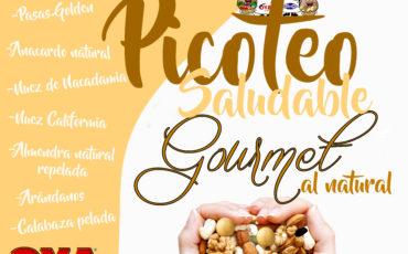"""Nuevo """"Picoteo saludable Gourmet"""""""